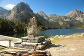Sant Maurici National Park - Pyrenees. — Stock Photo