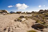 Mountain pass in Aiguestortes — Stock Photo