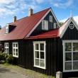 Old nordic house in Reykjavik — Stockfoto