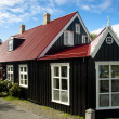 Old nordic house in Reykjavik — Stock fotografie