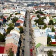 Aerial view from Hallgrimskirkja church — Stock Photo #3760570