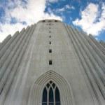 Hallgrimskirkja church in Reykjavik — Stock Photo