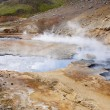Geothermal area, colorful landscape - Iceland — 图库照片
