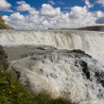 Part of Gullfoss waterfall - Iceland — Stock Photo
