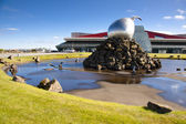Keflavik airport - Iceland — Stock Photo