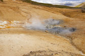 Geothermal area in Iceland. Colorful landscape. — Stock Photo