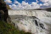 Part of Gullfoss waterfall - Iceland — ストック写真