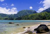 Hanalei Bay, Kauai — Stock Photo