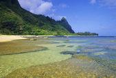 Tunnels Beach, Kauai — Stock Photo