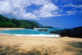 Lumahai Beach, Kauai — Stock Photo