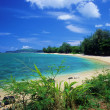Anini Beach, Kauai — Stock Photo