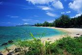 Anini Beach, Kauai — Stock Photo