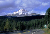 Mount Hood Highway — Stock Photo
