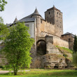 View of hrad kost castle - Stock Photo