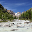 Karagem valley altay mountains russia - Stock Photo