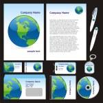 Vector business templates — Stock Vector #3008915