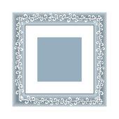Vector frame illustration — Stock Vector