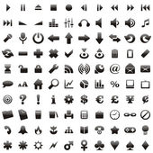Vector web icons with details — 图库矢量图片