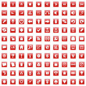 Vector web iconos con detalles — Vector de stock