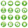 Royalty-Free Stock Vector Image: Vector web icons