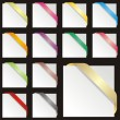 Royalty-Free Stock Vektorfiler: Isolated colored ribbons