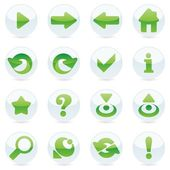 Vector web icons — Stock Vector