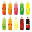 Isolated carbonated drinks set — Stock Vector #3128681