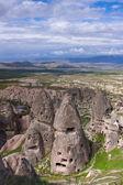 Cappadocia. Ancient cave city — Stock Photo