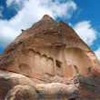 Cappadocia. Ancient cave church - Stock Photo
