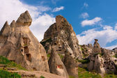 Cappadocia. Ancient cave city — Stock Photo