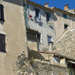 Stock Photo: Old village in languedoc