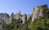 Castelo de peyrepertuse — Foto Stock