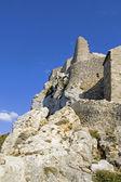 Chateau de Queribus — Foto de Stock