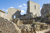 Chateau peyrepertuse — Stock Photo