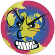 Stock Vector: Earth is angry