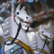 Old carousel horse - Stock Photo