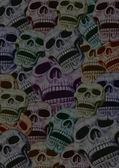 Skulls background — Stock Photo