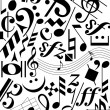 Royalty-Free Stock Vector Image: Music notes and signs