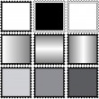 Square Stamps blanco — Stock Photo #3576967