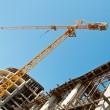 Building crane 2 — Stock Photo