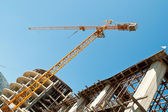 Building crane 2 — Stock Photo