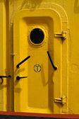 Yellow door — Stock Photo