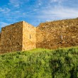 Wall and tower of genoese fortress — Stock Photo #3485169