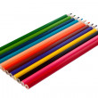 Royalty-Free Stock Photo: Row of colored pencils