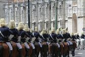 National Republican Guard Cavalry — Stock Photo