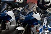 Police motorbikes 11/05/2010 — Stock Photo