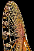 Ferris wheel by night — Stock Photo