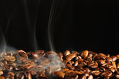 Roasting coffee — Stockfoto
