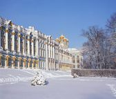 Ekaterinesky Winter Palace (Pushkin) — Stockfoto