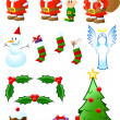 Royalty-Free Stock Vector Image: Christmas Collection
